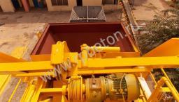 Перевозимый мобильный бетонный завод BHB 50