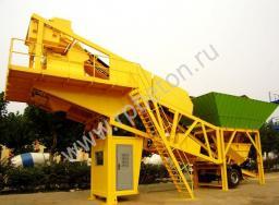 Транспортируемый мобильный бетонный завод YHZS 120
