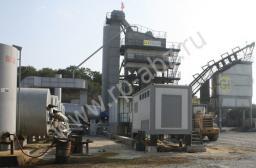 Стационарный асфальтобетонный завод LBG1000 / CP80
