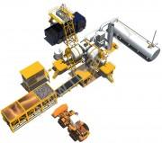 Мобильный асфальтный завод QLB20