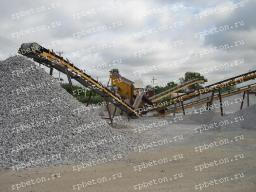 Комплекс производства щебня, 50 т. ч б/у