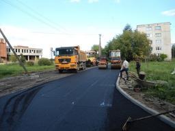 Асфальтирование, строительство дорог.