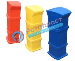 Сервисная колонка (основа) для причалов пластиковая