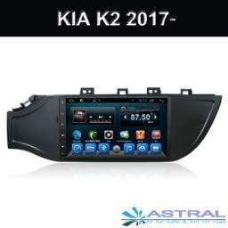 оптовая торговля Android 6.0 автомагнитолы с gps навигацией Kia K2 2017