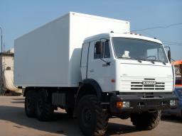 Производство фургонов Камаз