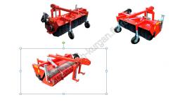 Щеточное оборудование с гидроприводом и бункером для сбора мусора на Трактор МТЗ-80/82 (задняя навеска)