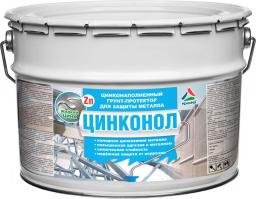 Цинконол - цинконаполненный состав для защиты металла от коррозии, 24кг
