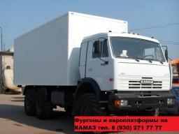 Установка фургонов на Камаз