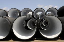 Трубы КОРСИС ПЛЮС 1200 мм, для напорных сетей