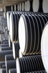 Гофрированные канализационные трубы КОРСИС 160 мм