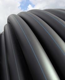 Труба полиэтиленовая для напорного водоснабжения 90 мм SDR 17