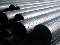 Труба полиэтиленовая для напорного водоснабжения 160 мм SDR 17
