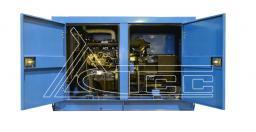 Дизельный генератор 30 кВт ТСС Проф в кожухе