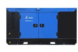 Дизельный генератор 20 кВт ТСС Проф в кожухе