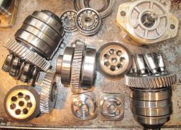 Запчасти для насоса и мотора Bosch Rexroth A8VO, A6VM и др.