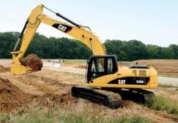 Аренда экскаватора Caterpillar 320d2 (ковш 1,1 м3)