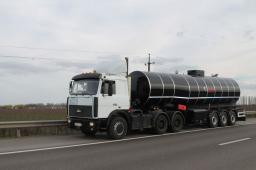 Перевозка  битума  и других нефтепродуктов