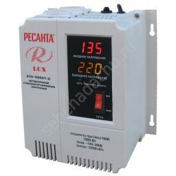 Стабилизатор цифровой настенный РЕСАНТА ACH-1500Н/1-Ц Lux