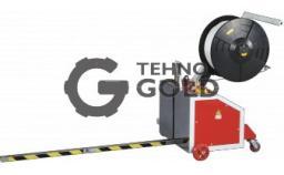 Бюджетный полуавтомат для вертикальной обвязки паллет ТР-202MV