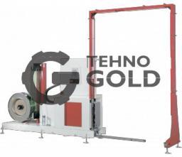 Автомат для вертикальной обвязки паллет ПП и ПЭТ лентами ТР-703VLM