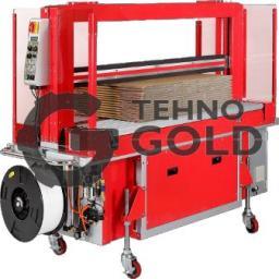 Автомат для обвязки с прижимом и роликовым конвейером ТР-702С
