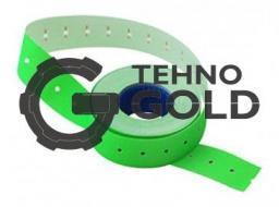 Этикет-лента 21х12х1000 зеленая,прямоугольная