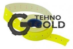 Этикет-лента 21X12X1000 желтая,прям.
