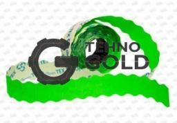 Этикет-лента 26X12X1000 зелёная волна