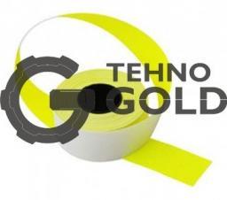 Этикет-лента 26х16х1000 прямоугольная, жёлтая