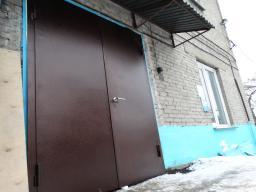 Ворота (двери) металлические входные
