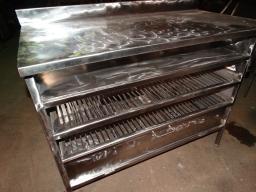 Стол из нержавеющей стали для хлебопекарни