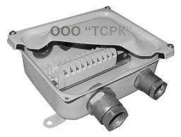КЗНС08 Коробка ответвительная с зажимами и сальниками КЗНС-08(М) IP65