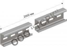 К101 Профиль С-образный К-101/2 (краска) У2 H=25, B=10, h=8, S=1,5mm L=2M