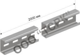 К101 Профиль С-образный К101/2 УТ 1,5 (горячий цинк) H=25, B=10, h=8, S=1,5mm L=2M