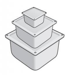 У996 Коробка У996 (IP54) с уплот. (крашеная)