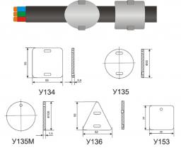 У135 Бирка маркировочная У-135