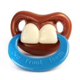 Прикольная пустышка Billy Bob Передние зубки Two Front Teeth