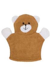 Махровая мочалка-рукавичка Baby Bear Roxy kids мишка