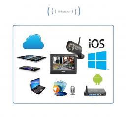 Комплект видеонаблюдения (1 камера и монитор) Switel HSIP с DVR, HD
