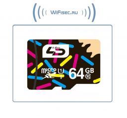 Карта памяти microSD 64Gb Class10