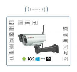 Уличная WiFi-LAN телекамера HD 960Р