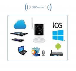 D-Link, 1 Мп уличная WiFi/LAN IP видеокамера с DVR, HD