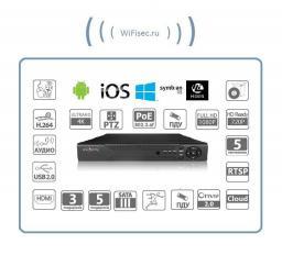 8-канальный IP-видеорегистратор FullHD/4K