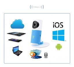 Видеоняня /WiFi видеокамера CleverDog Blue с DVR