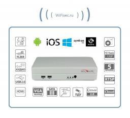 4-канальный мини IP-видеорегистратор для дома