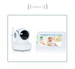 Видеоняня с моторизированной видеокамерой Ramili Baby RV