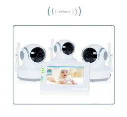 Видеоняня с моторизированной видеокамерой Ramili Baby RV (3 камеры)