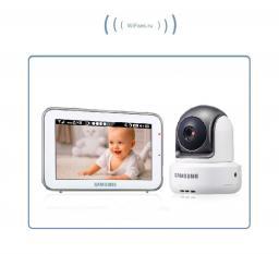 Видеоняня с моторизированной видеокамерой Samsung SEW, HD