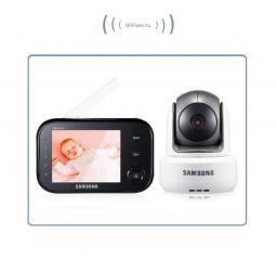 Видеоняня с моторизированной видеокамерой Samsung SEW