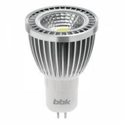 Светодиодная лампа BBK MR-16 MB53C 5W COB 3000K GU5.3